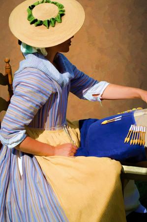 Pin-based Fabric Weaving