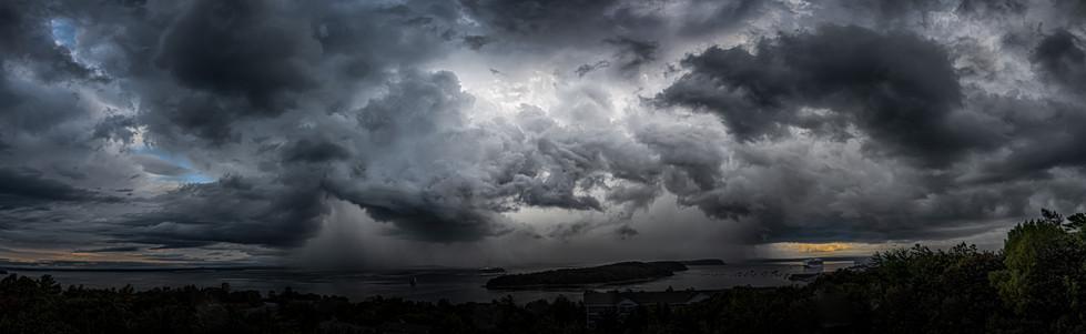 Storm Over Bar Harbor, Maine