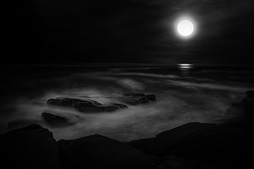 Moon and Mist II