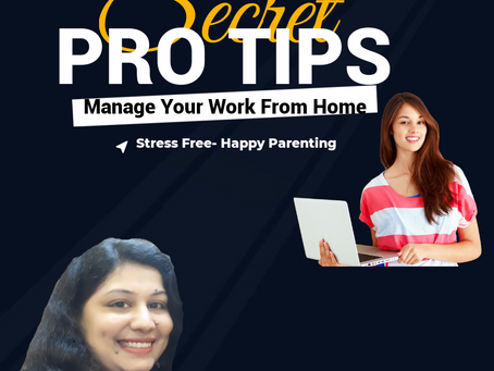 Are You Working Mother- Quick Tips To Manage Your work From Home During This Time, Happy Parenting