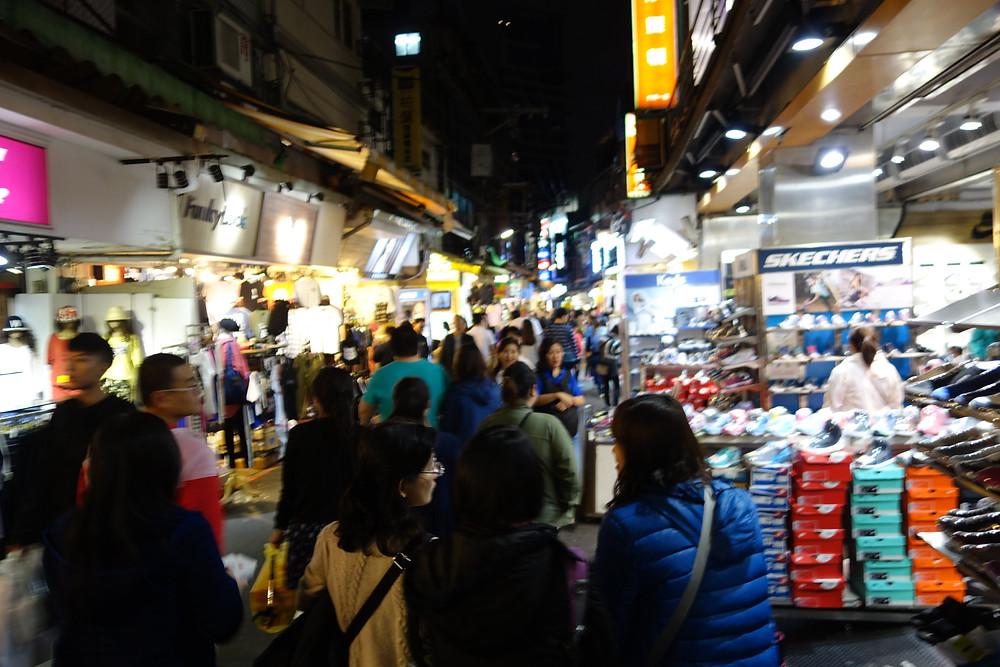 台湾夜市風景