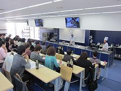 西日本料理学校協会 料理研修会風景