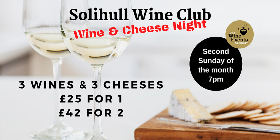 TASTE Solihull Wine Club with Cheese