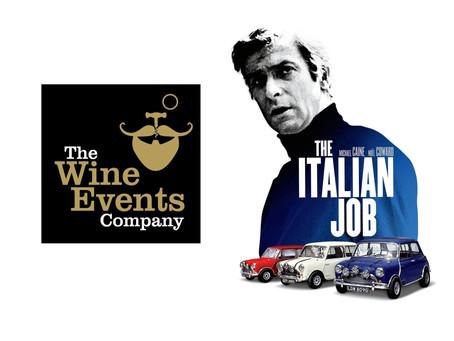 Italian Job with Wine - the wines