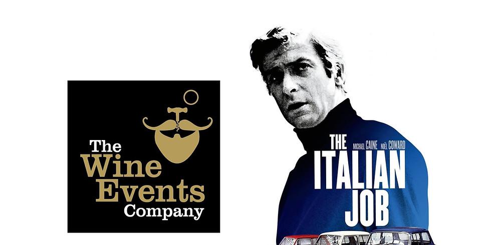 FILM The Italian Job with Wine
