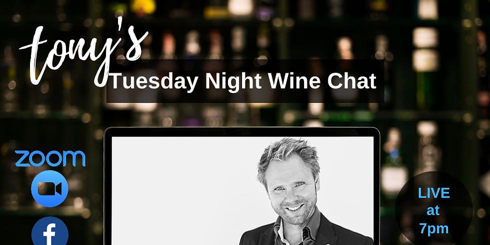 Tuesday Night Wine Chat with Jonas Tofertup MW