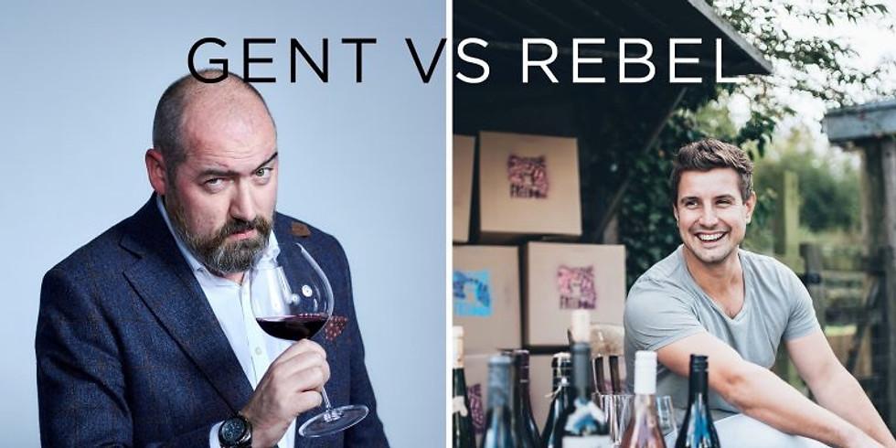 SOLD OUT Gent vs Rebel 'Wine Off' Dinner