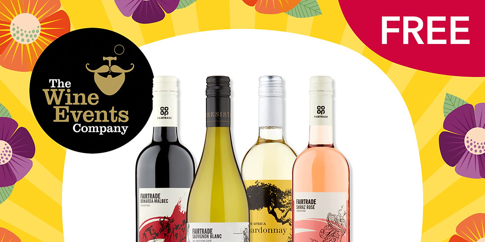 FREE Online Fairtrade Wine Tasting with Central England Cooperative