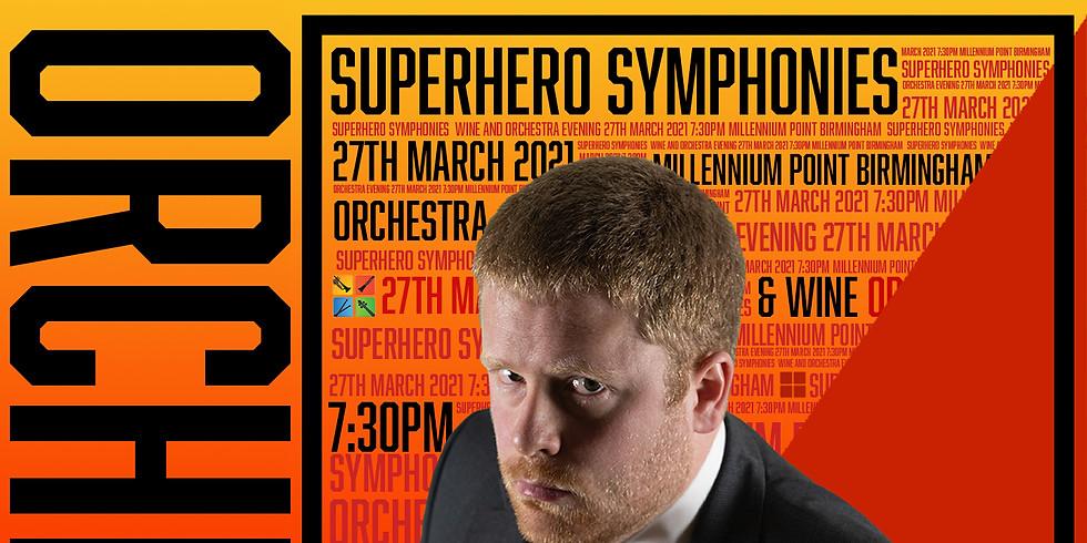 Superhero Symphonies with Wine