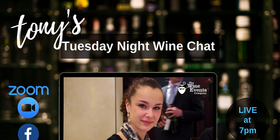 Tuesday Night Wine Chat with Charlotte Hugel
