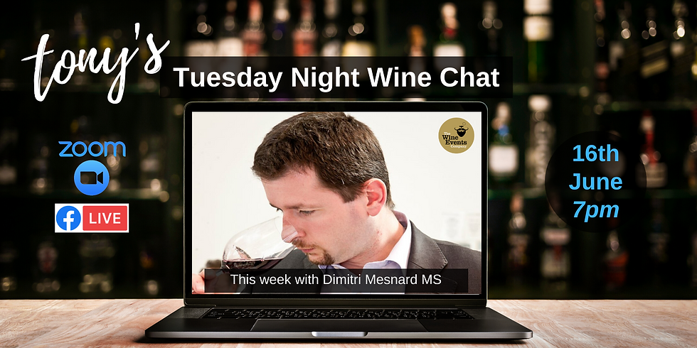 Tuesday Night Wine Chat with Dimitri Mesnard MS