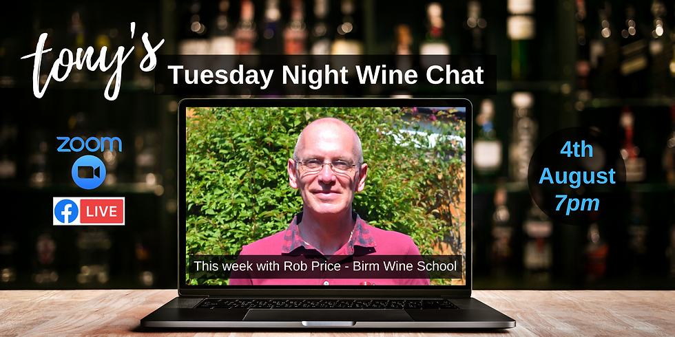 Tuesday Night Wine Chat with Rob
