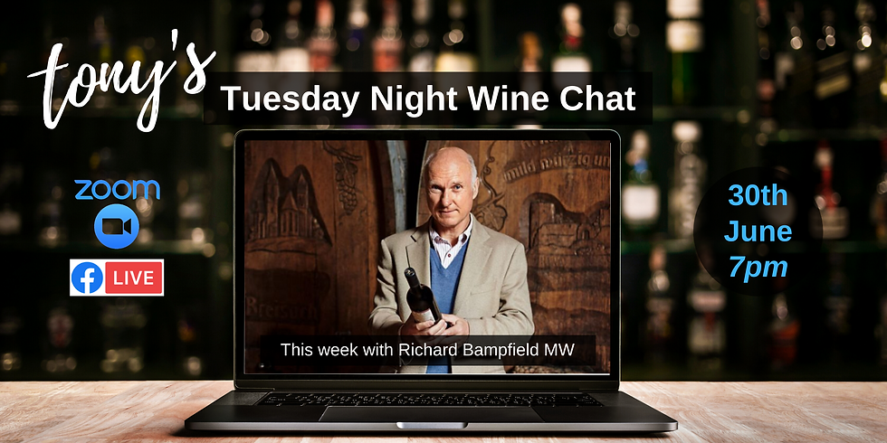 Tuesday Night Wine Chat with Richard Bampfield MW