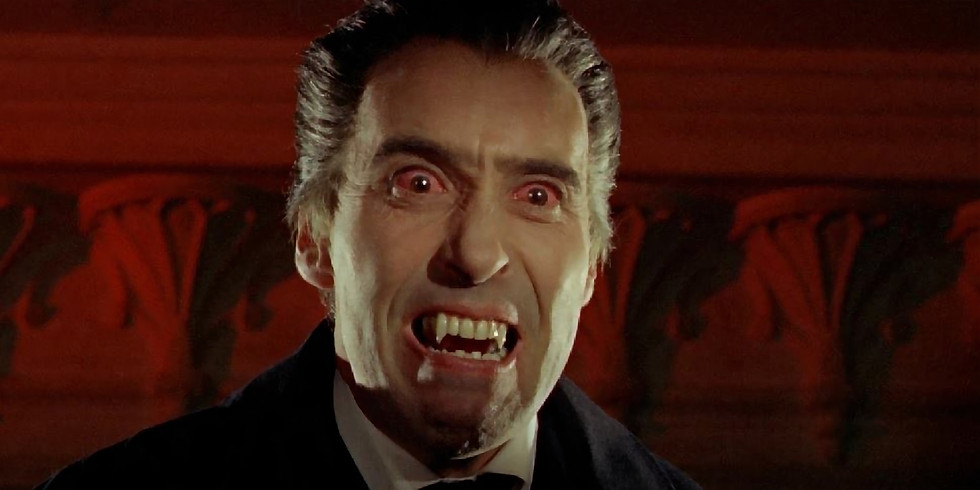 FILM Dracula Prince of Darkness with Wine