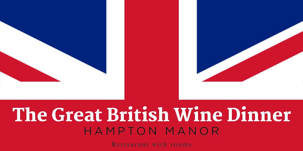 DINE The Great British Wine Dinner