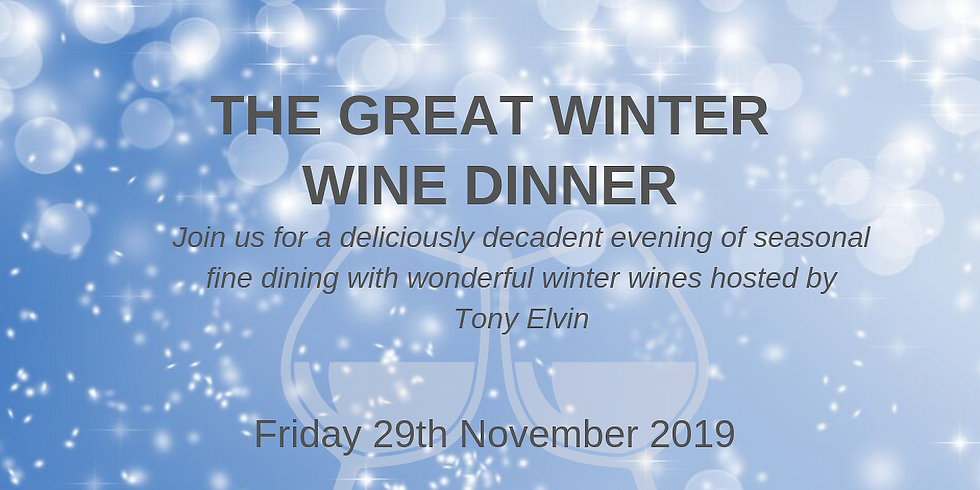 SOLD OUT Great Winter Wine Dinner