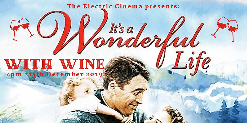 SOLD OUT It's A Wonderful Life with Wine