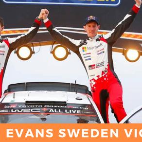 Elfyn Evans King of Sweden !