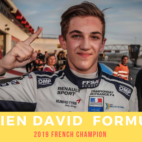 Hadrien DAVID F4 French Champion