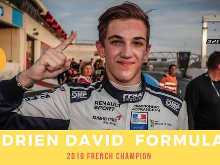 Hadrien DAVID F4 French Champion