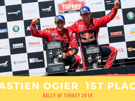 WRC Turkey : Victory for Sébastien Ogier