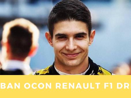 Esteban OCON Renault F1 driver