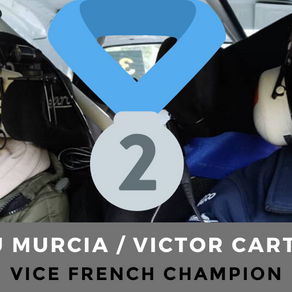 Rally : Victor Cartier / Lou Murcia Vice French Champion