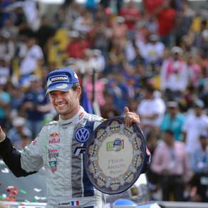 Notre pilote Sébastien Ogier reprend la tête du championnat du monde