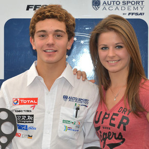 Dorian Boccolacci Vice champion de France F4