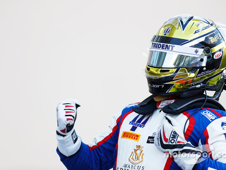 Victoire de Dorian Boccolacci à Abu Dhabi en GP3 !