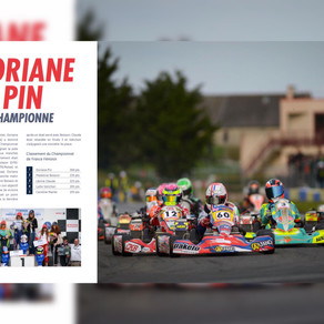 Karting : Doriane Pin Championne de France