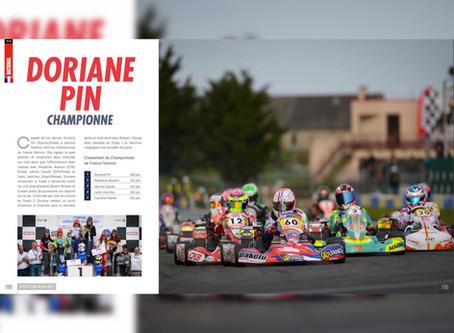 Karting : Doriane Pin Championne de France