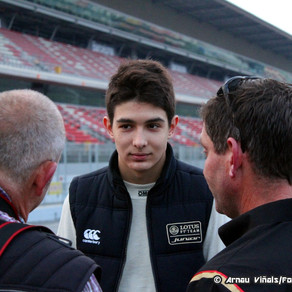 ESTEBAN OCON IN F3 WITH PREMA POWERTEAM FOR 2014