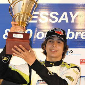 Esteban Ocon Champion de France KF3