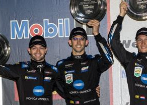 M. Vaxiviere takes a 2nd Place in Sebring