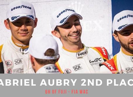 FIA WEC : Gabriel Aubry 2nd - 6H of Fuji