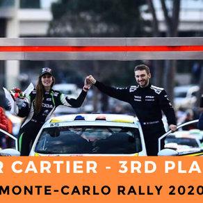 Victor Cartier : 3rd Place RC4 - Monte-Carlo Rally