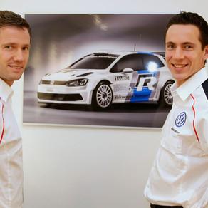 Notre pilote Sébastien Ogier passe chez Volkswagen