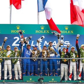 24H of Le Mans : 4 podiums