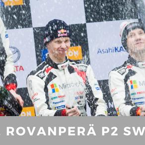 Kalle Rovanperä : Silver in Sweden