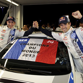 Notre pilote Sébastien Ogier Champion du Monde 2013 en WRC