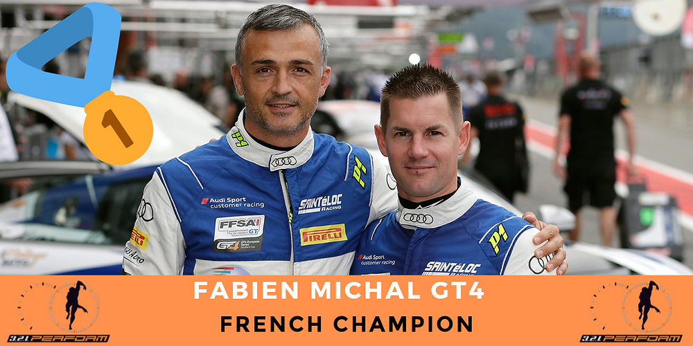 Although classified only Eighth this Sunday during the last of the two rounds of the final event of the Championship of France GT4 2019 which was disputed on the track of the Circuit Varois from Paul Ricard to Castellet, the tandem Grégory Guilvert and Fabien Michal and their Audi R8 LMS GT4 of the Team Saintéloc Racing, have won the title of French Champions FFSA GT for the second year in a row!