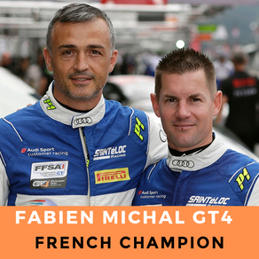 Fabien Michal French Champion GT4