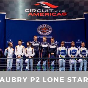 Lone Star Le Mans : Gabriel Aubry P2