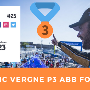 Jean-Eric Vergne P3 ABB Formula E
