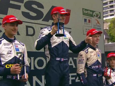 Formula 4 : Hadrien David Victory
