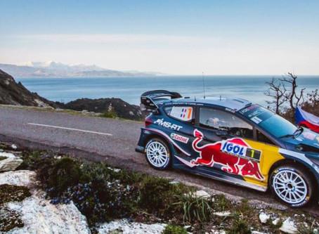 Notre pilote Sébastien Ogier remporte le Rallye de Corse !