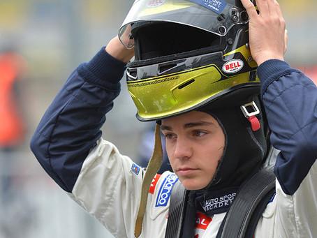 Notre pilote Dorian Boccolacci déjà dans le top 3 en F4
