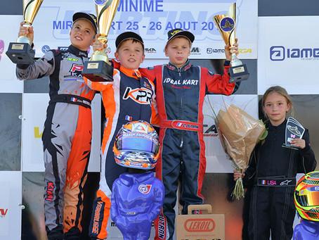 Karting : Verbrugge Champion de France