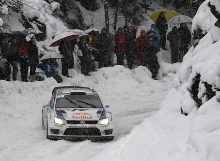 Notre pilote Sébastien Ogier remporte le Rallye de Monte-Carlo !